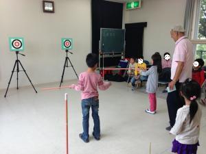 スポーツ吹矢体験