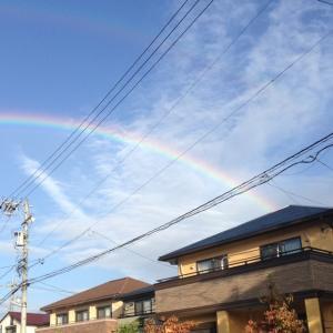 虹が2本!!