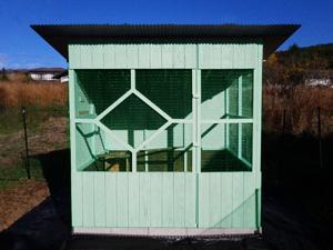鳥小屋14