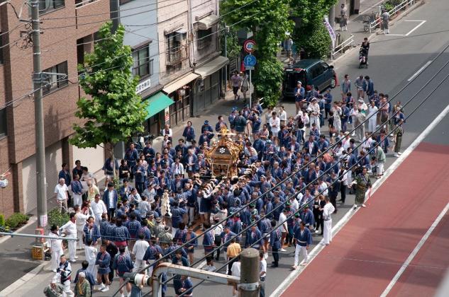 鳥越神社大祭1