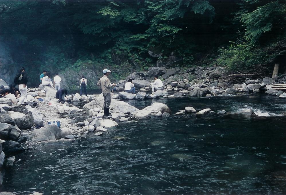 渓流釣場3