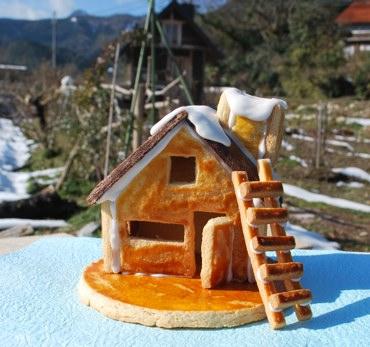 クッキー小屋後ろに
