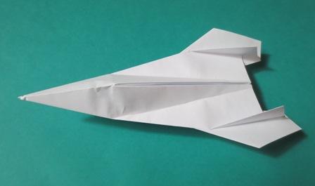 ハート 折り紙 立体紙飛行機折り方 : omorik.blog.fc2.com