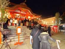 日本催眠術倶楽部-新宿花園神社の参拝行列2