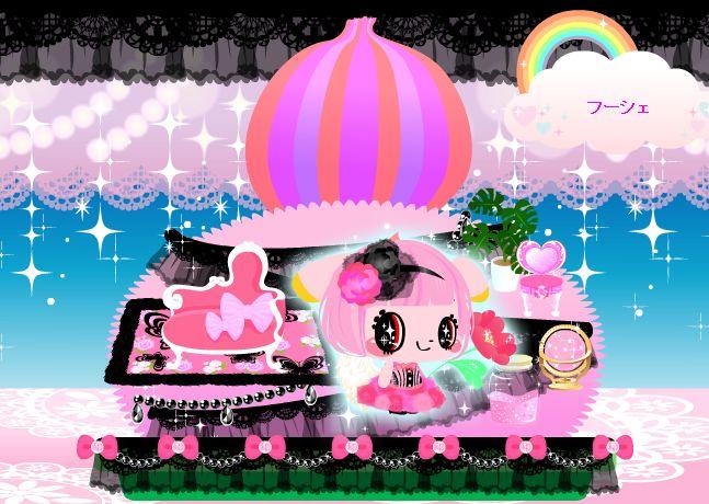 ピンクの風船のようでもある