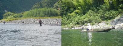釣り人もたくさんいます