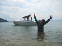 直島に上陸