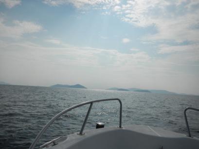 六口島を出て次の島へ向かいます