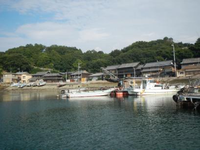 真鍋島へ到着