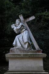 1338 カルバリーへの道、十字架とイエス
