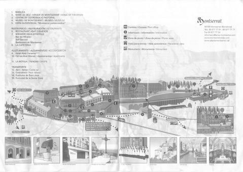 モンセラ地図
