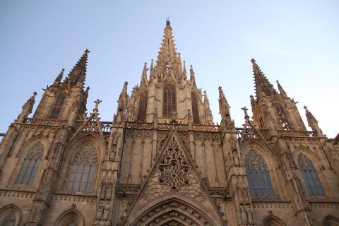1558 Catedral de Barcelona