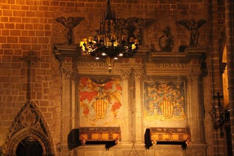 1580 Catedral de Barcelona