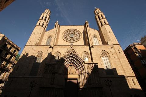 1641 Esglesia de Santa del Mar