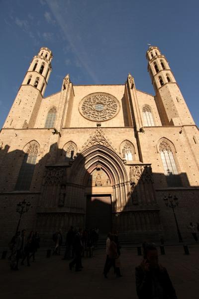 1642 Esglesia de Santa del Mar