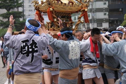 100 浅草 三社祭
