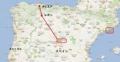 今回の旅行地図