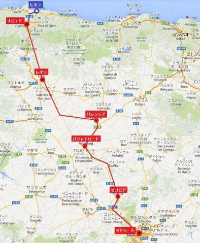 列車Mapa