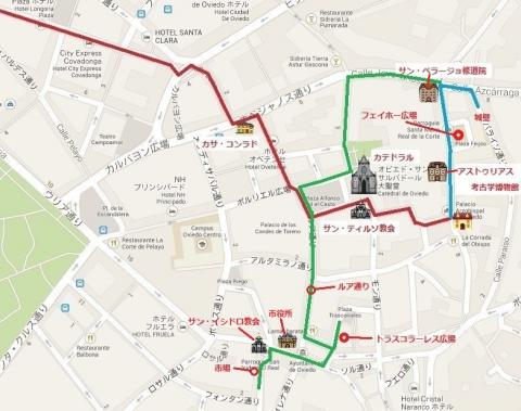 オビエド散策マップ 03