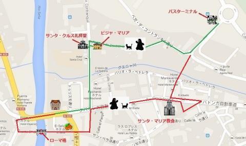 mapa de Cangas de Onis 3