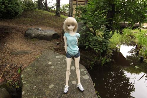 日本庭園にてその1