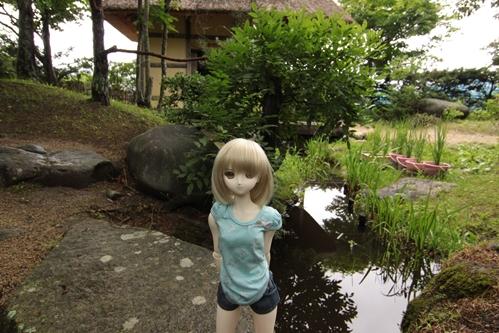 日本庭園にてその2