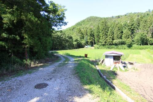 山室湿原への道