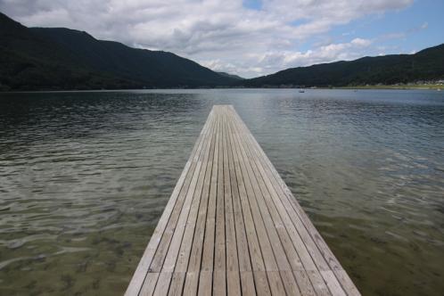 木崎湖桟橋