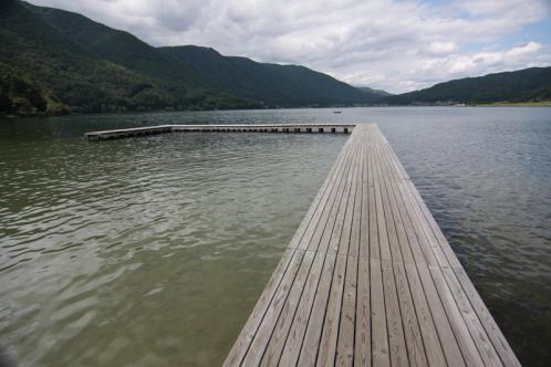 木崎湖桟橋2