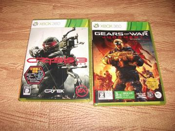 Crysis3とGears of War Judgment