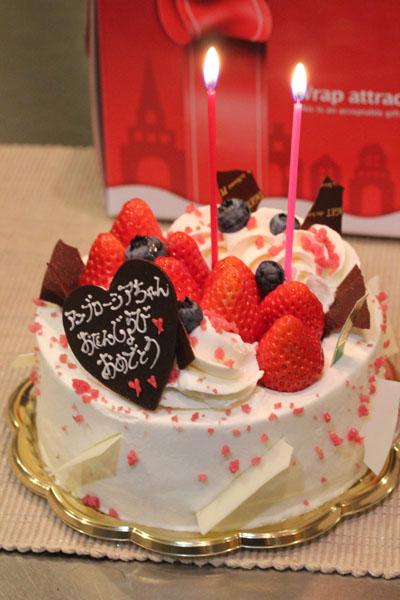 アンブのケーキ