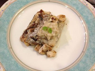 太刀魚トリュフ。。バター醤油ガーリックベース