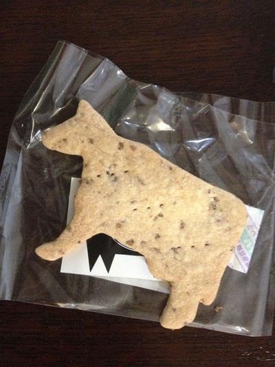 松坂牛のクッキー