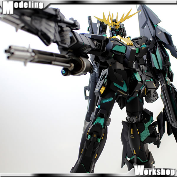 MG バンシィ 覚醒Ver. 製作09