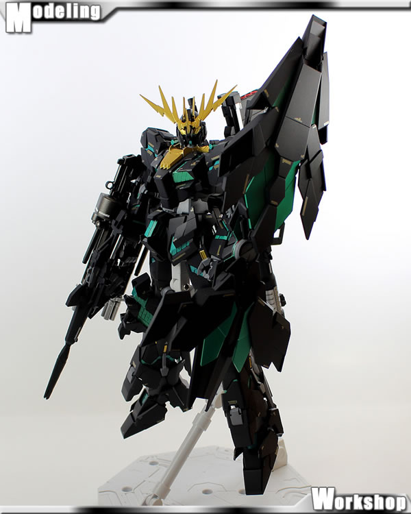 MG バンシィ 覚醒Ver. 製作11