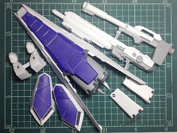 MG Hi-νガンダム Ver.Ka HWS 製作01