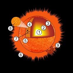 太陽の構造