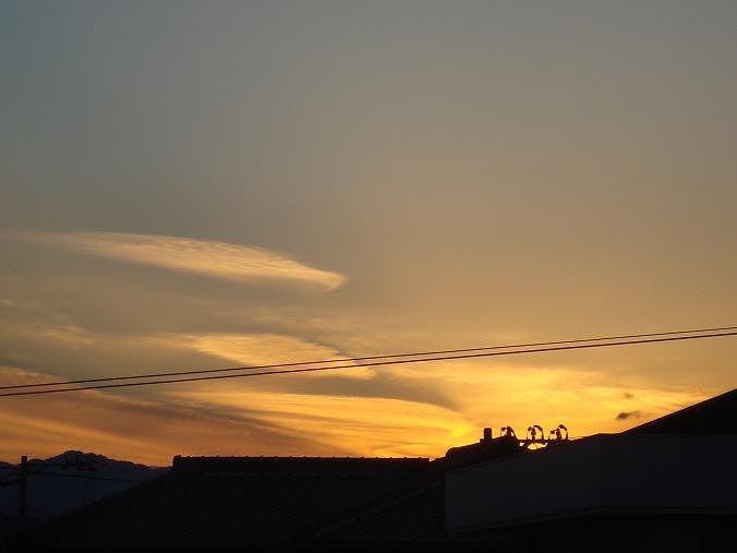 2014-01-02 夕陽