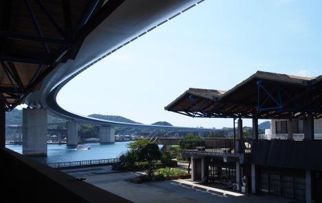 7うしぶか海彩館から見たハイヤ大橋