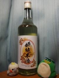 熊本 花の香酒造 熊本純米 901 純米酒 (1)