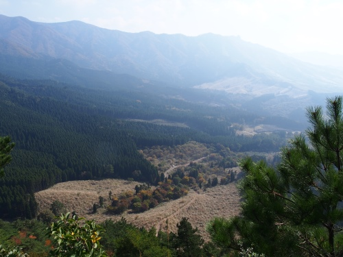9越敷岳 山頂から
