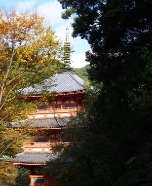 32清水寺 三重塔