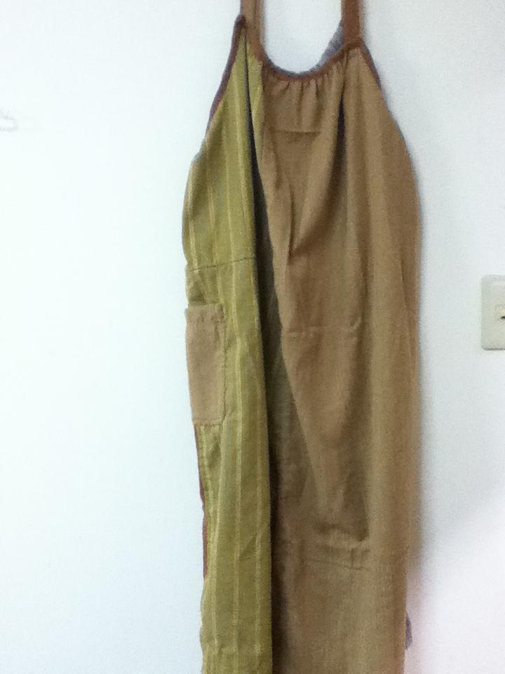 無農薬コットン手縫いパッチワンピj3