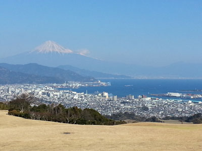 1312日本平からの富士山