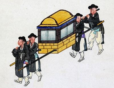 韓国のかご
