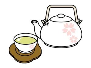 お茶ときゅうす