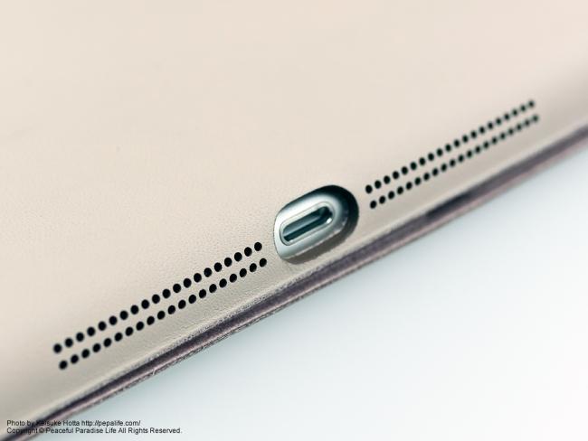 Apple iPad AirにSmart Caseを装着