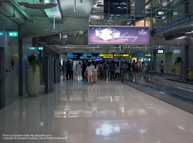 バンコクのスワンナプーム国際空港