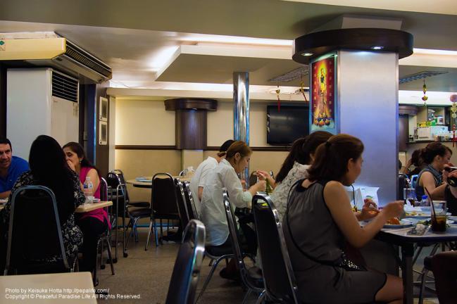 ソーントーン・レストラン(sornthong restaurant)の店内