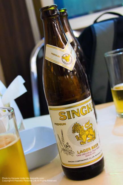 タイのビールSINGHA